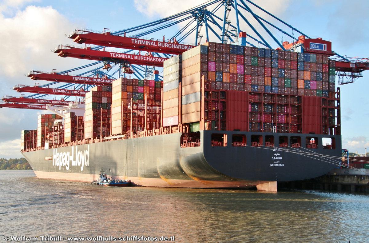 AFIF am 01.10.2018 bei Hamburg Höhe Container Terminal Burchardkai