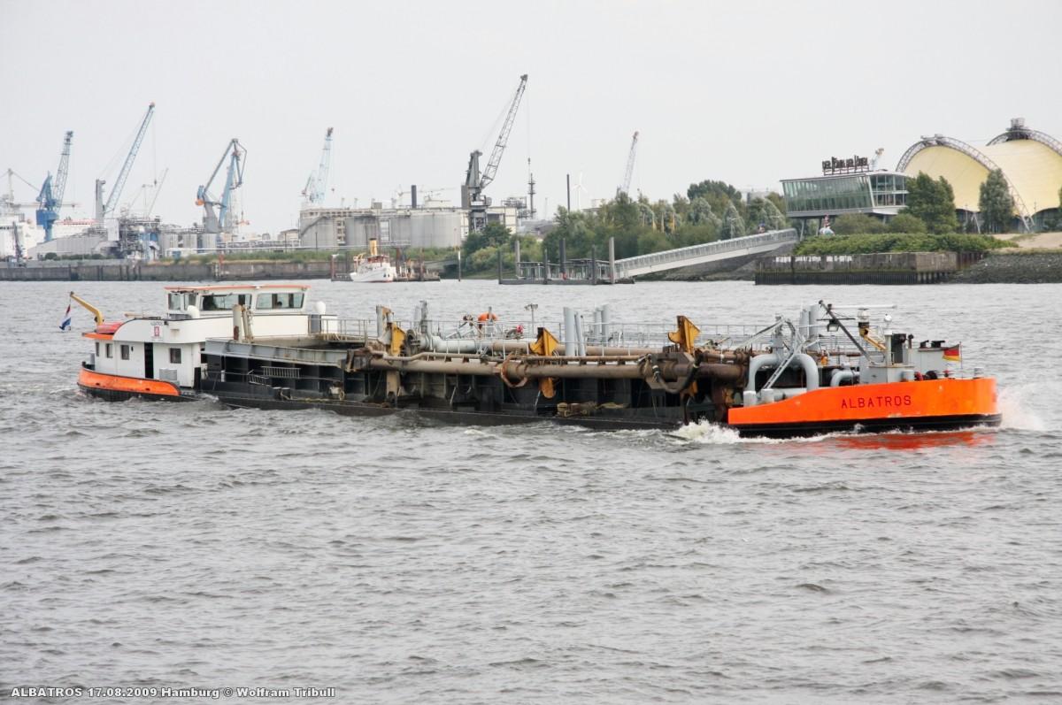 ALBATROS am 17.08.2009 bei Hamburg Höhe St. Pauli-Landungsbrücken