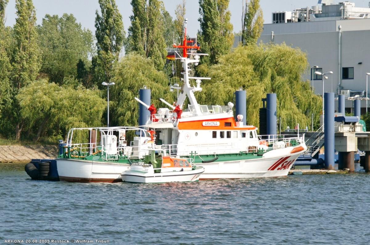 ARKONA am 20.08.2009 bei Rostock