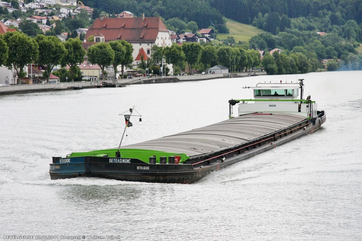 BETELGEUSE am 12.06.2011 auf der Donau bei Obernzell