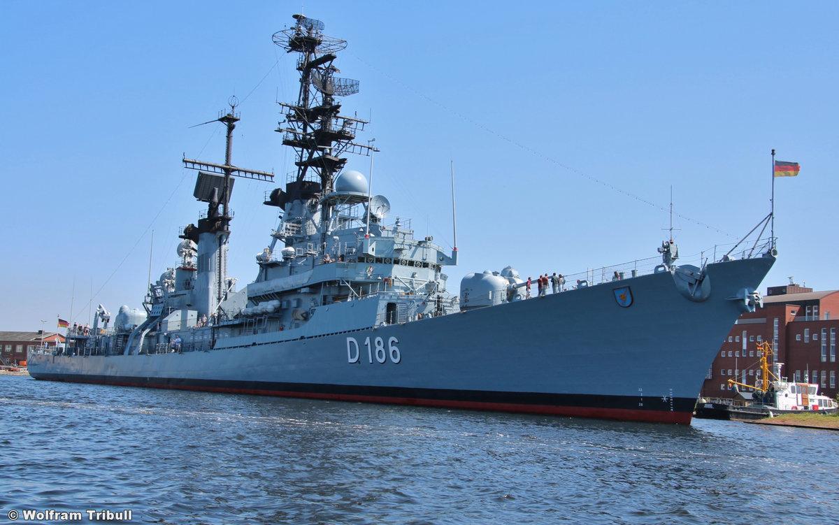 D 186 MÖLDERS am 23.07.2018 im Marinemuseum Wilhelmshaven