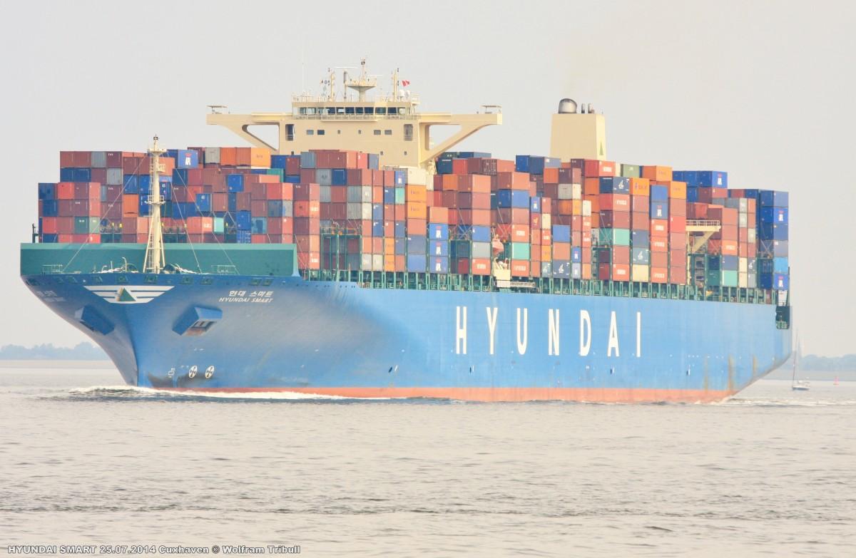 HYUNDAI SMART am 25.07.2014 bei Cuxhaven Höhe Steubenhöft