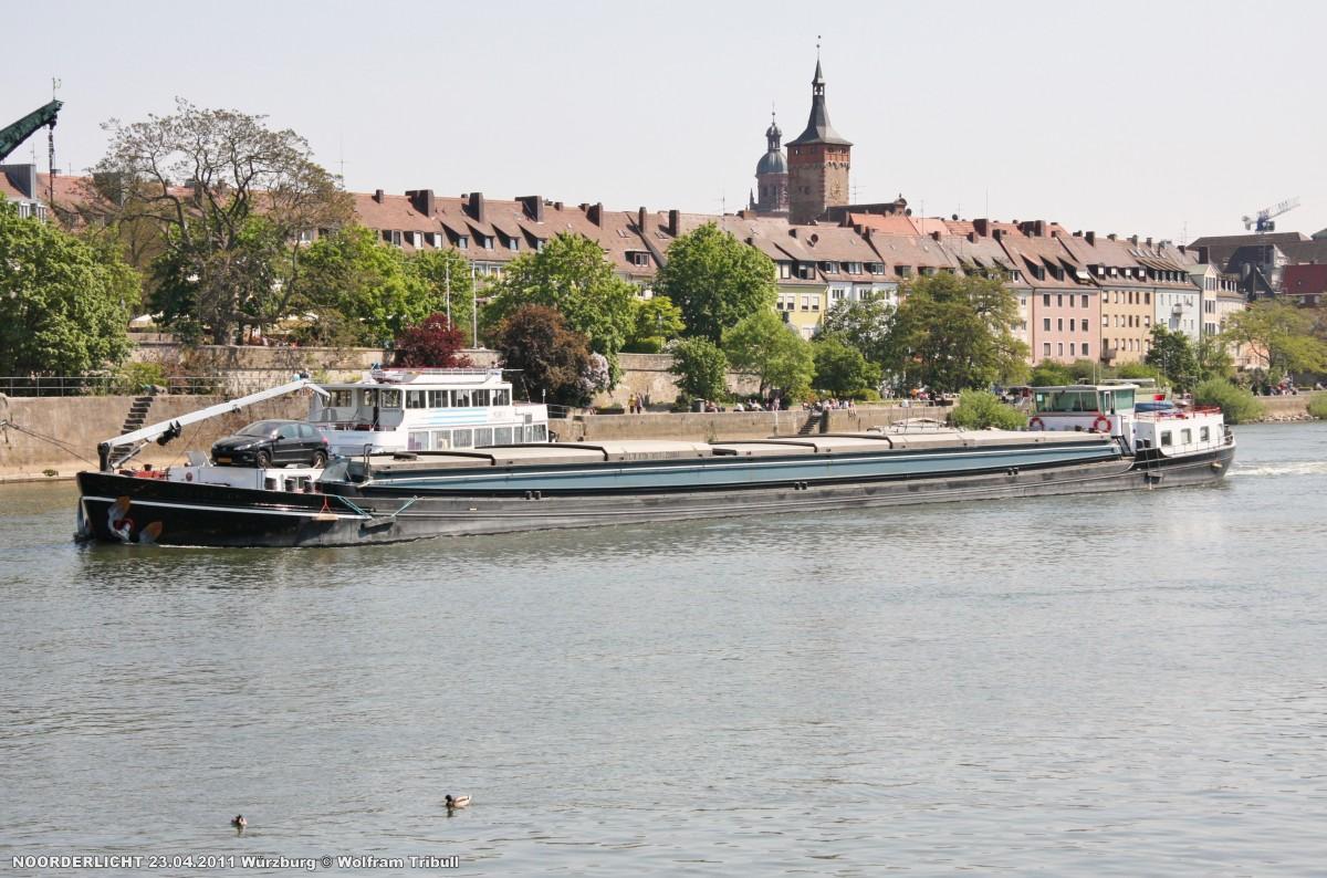 NOORDERLICHT am 23.04.2011 bei Würzburg Höhe Viehmarktplatz