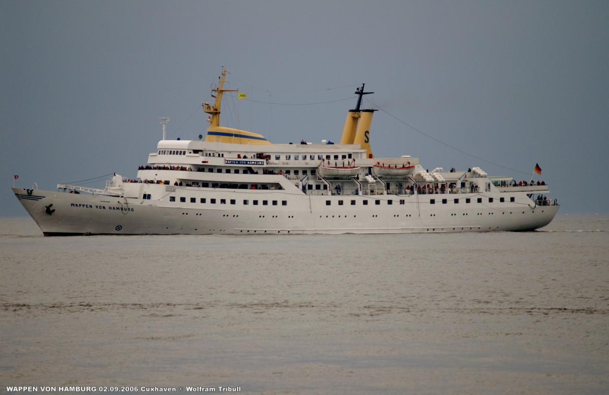 WAPPEN VON HAMBURG am 02.09.2006 bei Cuxhaven