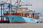 MONACO MAERSK am 01.08.2018 bei Bremehaven Höhe Container Terminal NTB