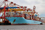 MERETE MAERSK am 01.08.2018 bei Bremerhaven Höhe Container Terminal Eurogate